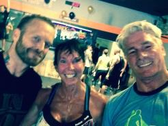 Bob Harper, Andrea and Pete